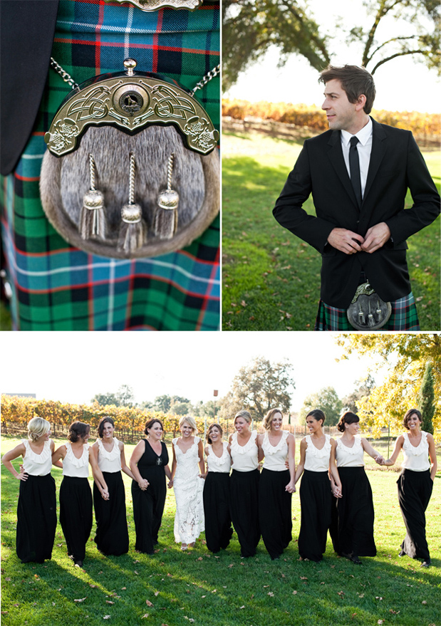 Wedding Blog A Kilted Groom