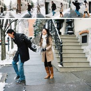 Engaged: Snow in the City