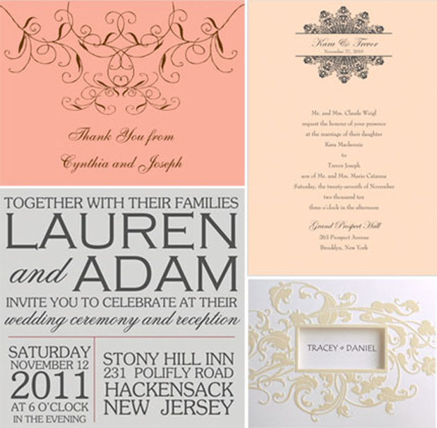 Wedding Invitations by Storkie