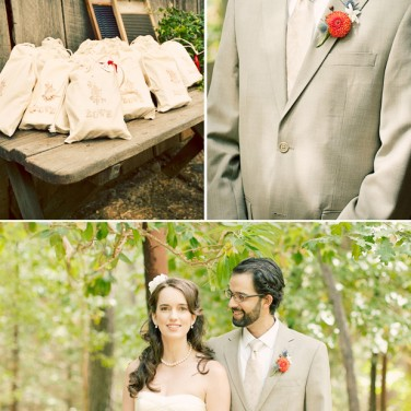 Rustic Estate Wedding: Ribbons Galore!