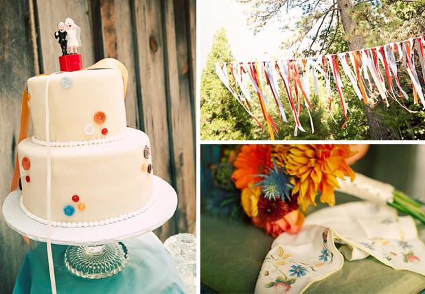 Wedding Blog Rustic Estate Wedding: Ribbons Galore!
