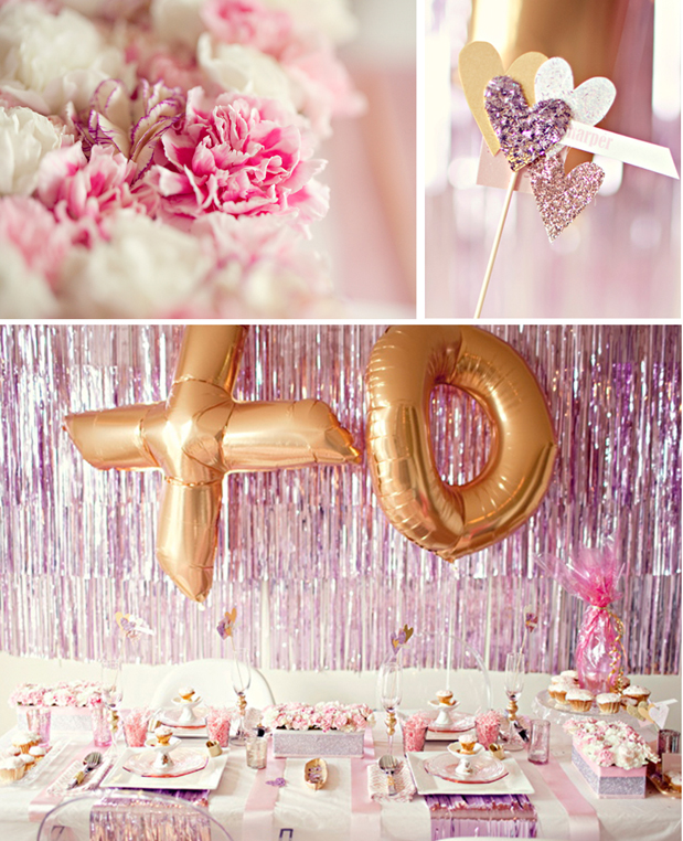 Wedding Blog Valentines Glam and Glitter