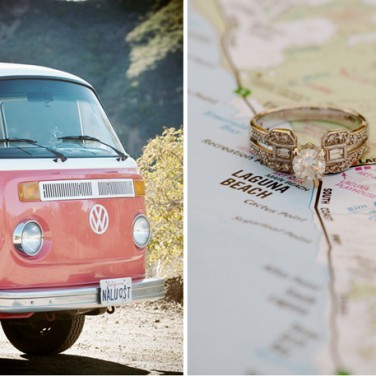 Vintage VW Engagement