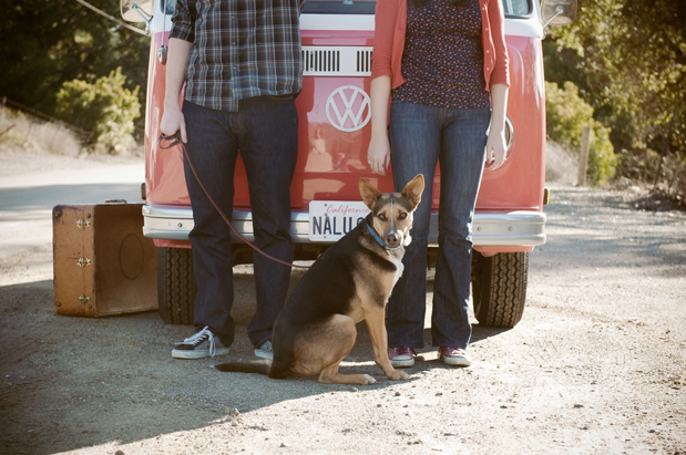 Wedding Blog Vintage VW Engagement