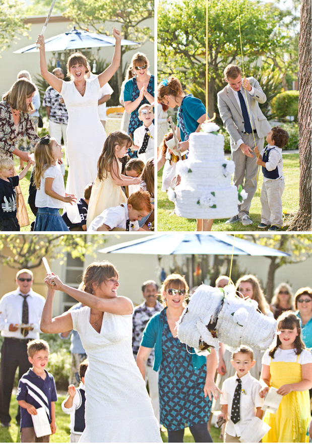 Wedding Blog Vows and Pinatas