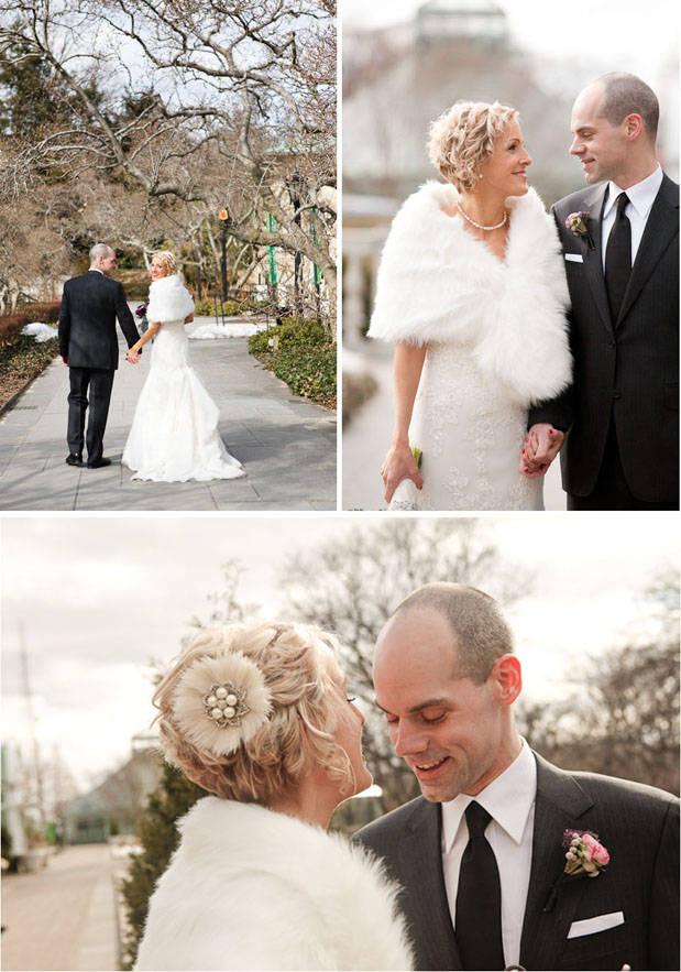Wedding Blog Winter at the Brooklyn Botanic Gardens