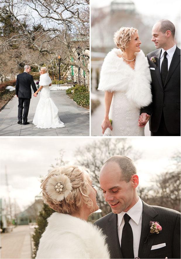 Wedding Blog Winter at the Brooklyn Botanic Gardens