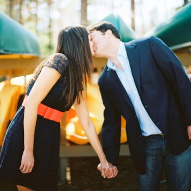 Brenna and Brian: A Lake House Engagement