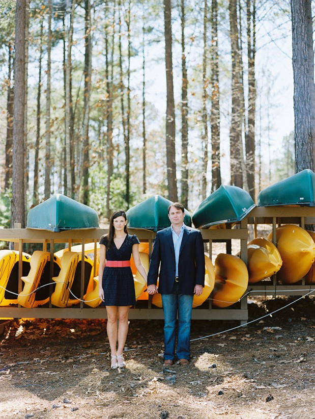 Wedding Blog Brenna and Brian: A Lake House Engagement