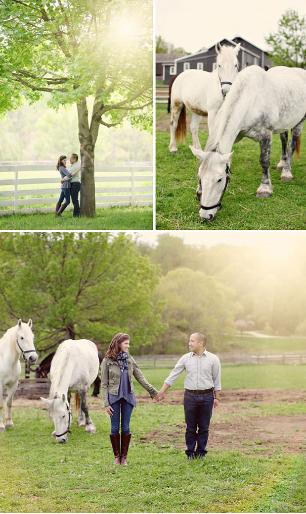 Wedding Blog Equestrian Engagement