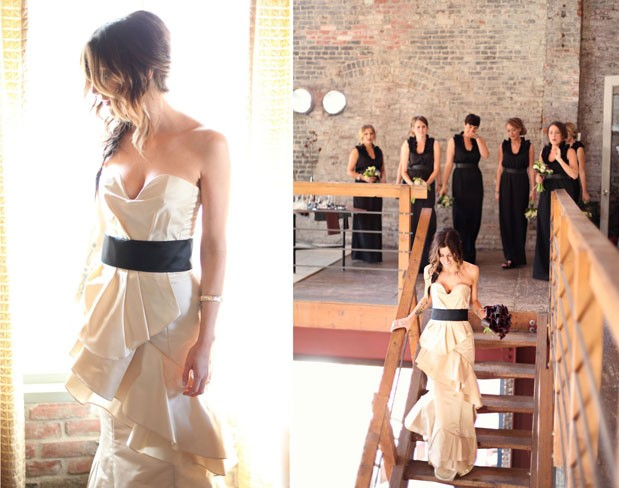 Wedding Blog Huron Substation + MOB Seamstress Skills