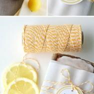 Lemony Summertime Favors
