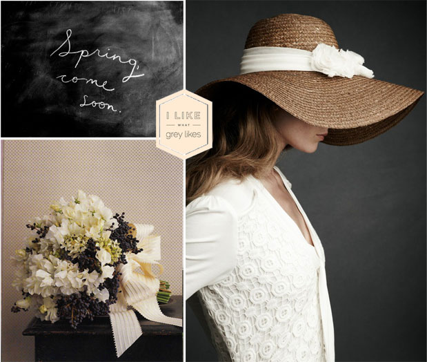black wedding inspiration spring flower friday lilacs