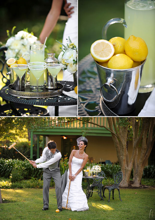 lemonade cocktails great gatsy inspiration croquet