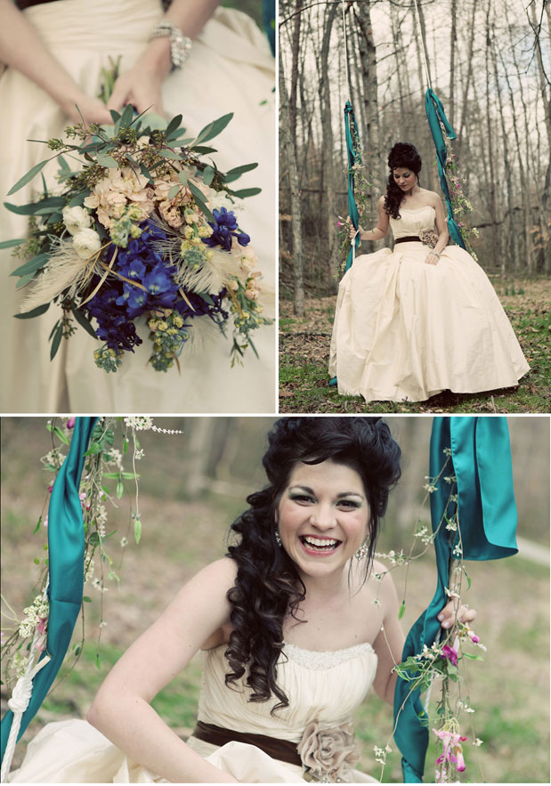 Woodland fairy tale inspiration shoot