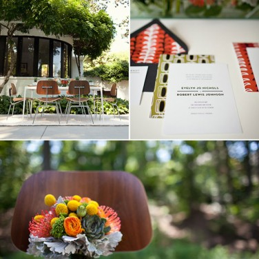 The Best Mid Century Modern Wedding Inspiration. Ever.