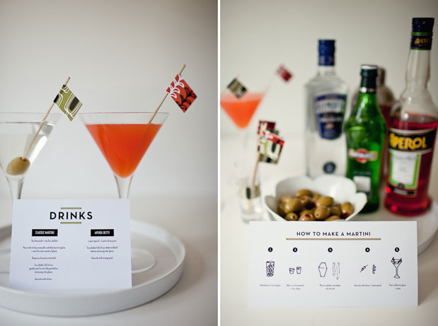 martini bar how to make a martini instructions