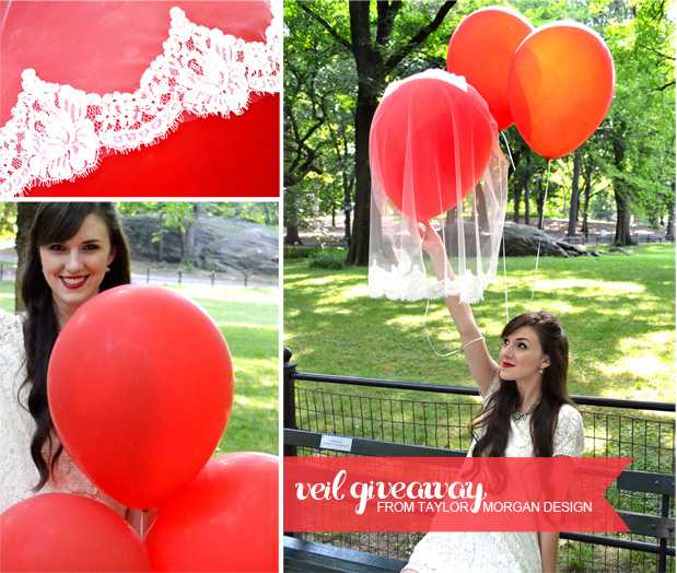 red balloons lace veil discounted prices