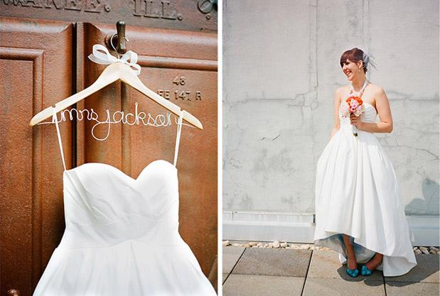 wedding dress custom hanger
