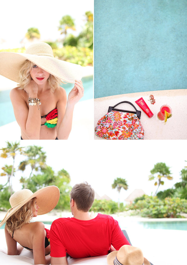 Wedding Blog Secrets Maroma: Styled Honeymoon Goodness