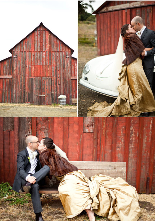 fur caplet fall wedding