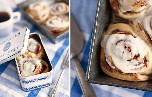 Wedding Blog Cinnamon Roll Favors