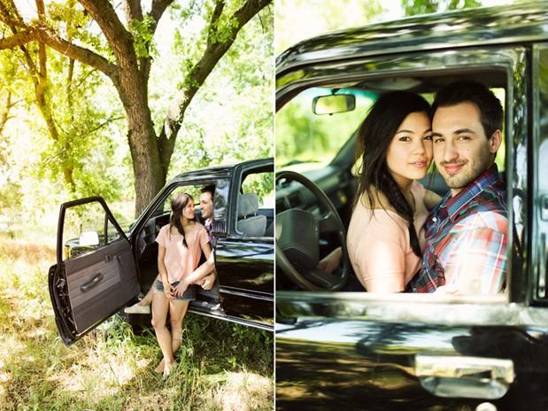Wedding Blog Fishing at the Lake: Rustic Engagement