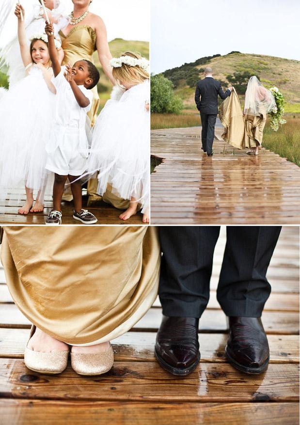 gold black diy barn wedding with glamour