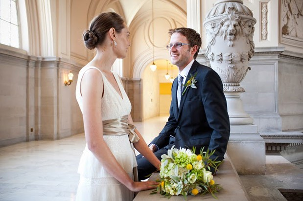 Wedding Blog A City Hall Elopement Never Looked So Pretty