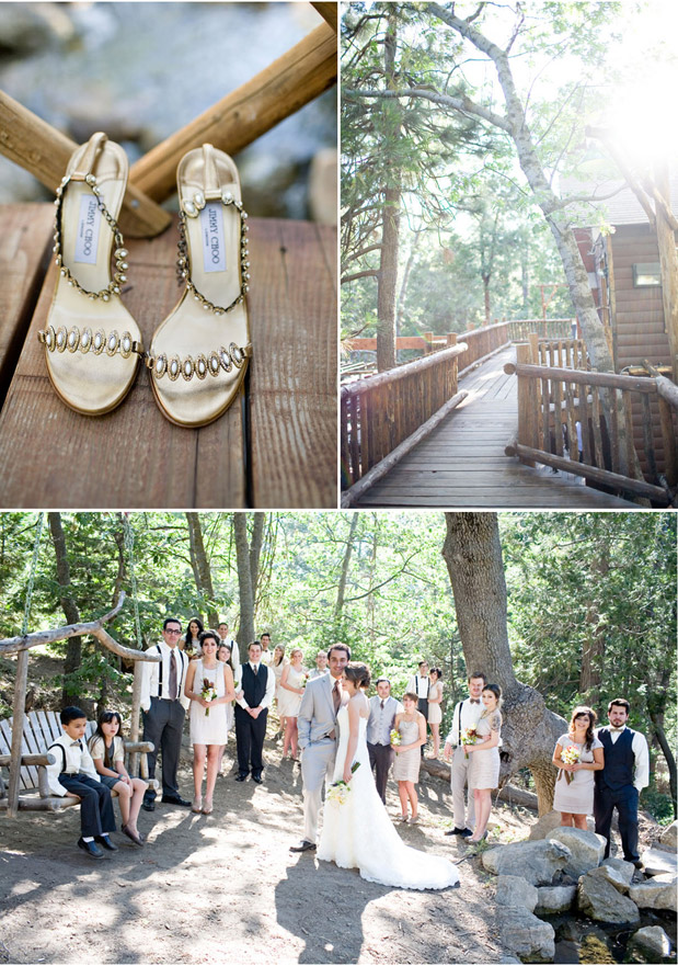 twin peaks rustic wedding
