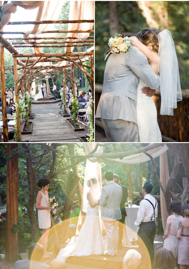 Wedding Blog Wooded Wedding