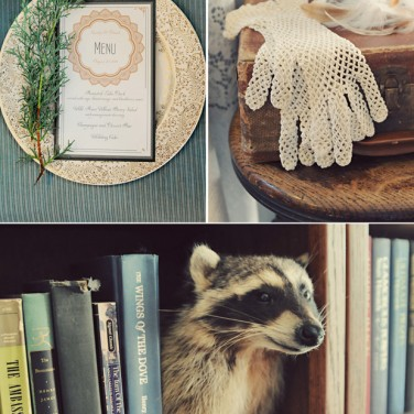 Taxidermy Goes Glam?