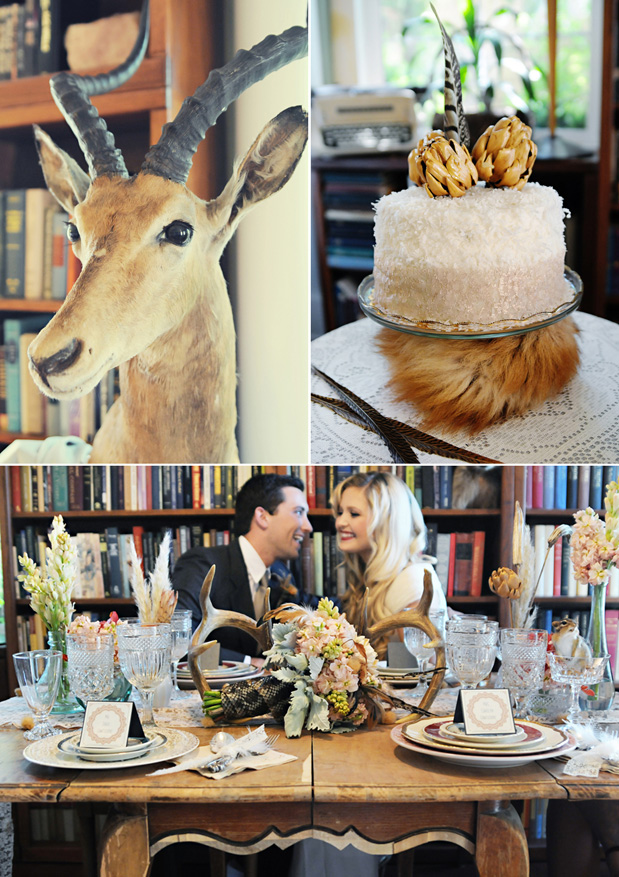 Wedding Blog Taxidermy Goes Glam?
