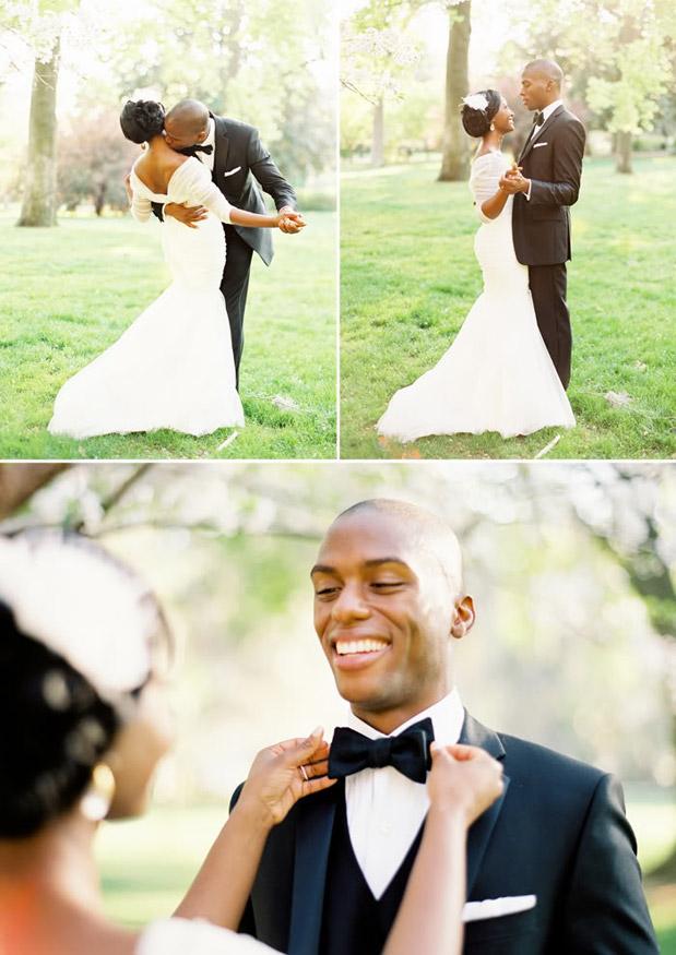 tuxedo wedding portraits