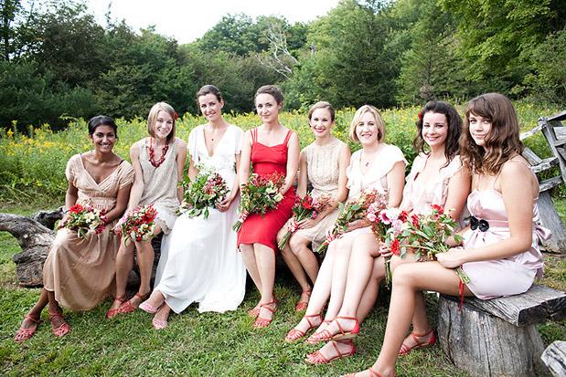 manhattan style bridesmaid dresses