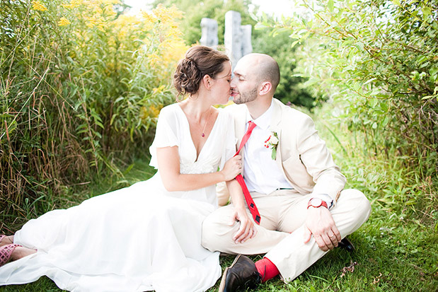 linen suit groom