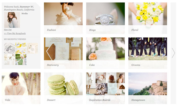 Wedding Blog Lover.ly + Elizabeth Messina