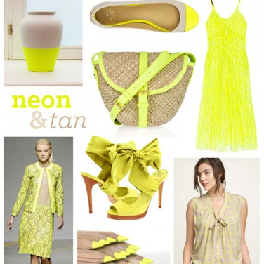 Neon Yellow with Ampersand Design Studio