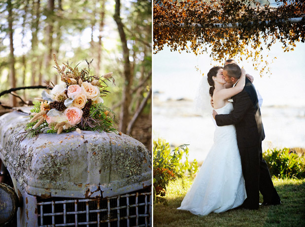 fall wedding romantic rustic farm