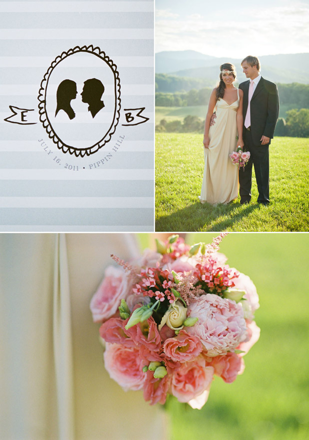 Wedding Blog Silhouettes & Peonies