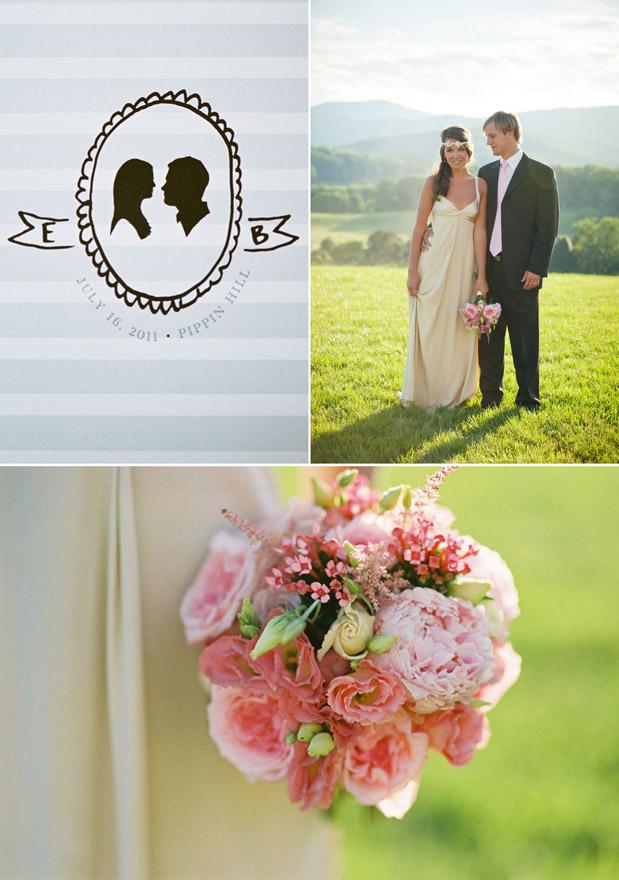 Wedding Blog Silhouettes & Peonies
