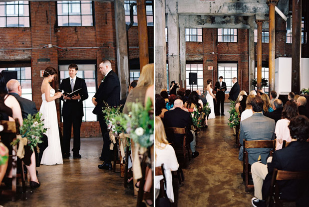 Wedding Blog Brooklyn Loft Wedding