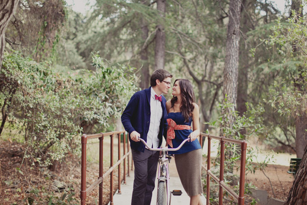 Wedding Blog Hiking Engagement and The Worlds Cutest Bow