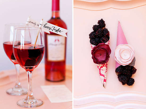pomegranate wedding inspiration