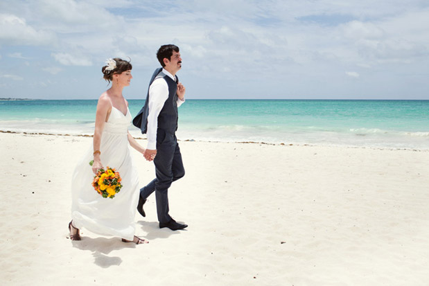 Wedding Blog Destination Mexico Wedding with a Catamaran Reception