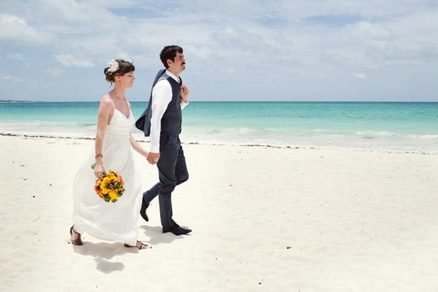 Wedding Blog Destination Mexico Wedding with a Catamaran Reception