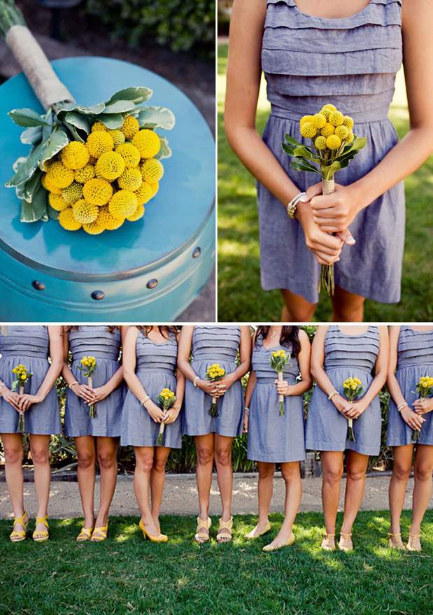 Wedding Blog Billy Balls and Chambray Bridesmaids