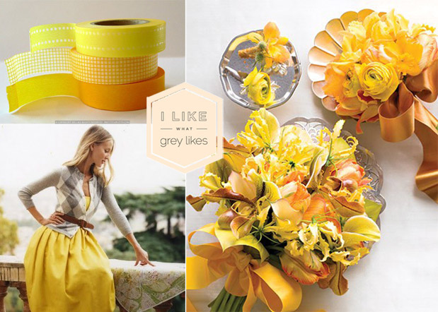 Wedding Blog Preppy Yellow