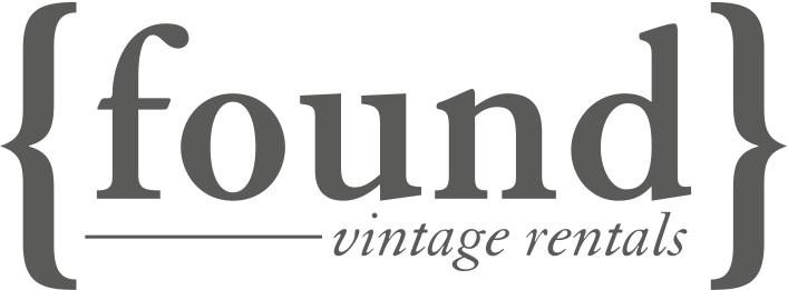 Found Vintage Rentals