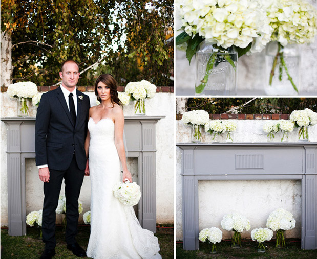 Wedding Blog Elegant Backyard Wedding